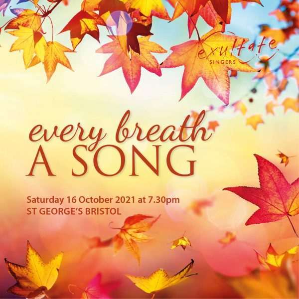 Every breath a song - 16 October 2021